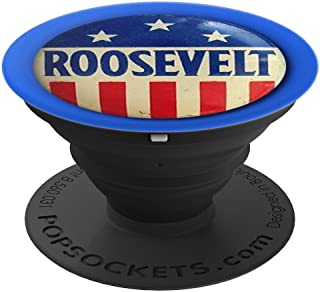 FDR Franklin Roosevelt Campaign Button - PopSockets Grip and Stand for Phones and Tablets