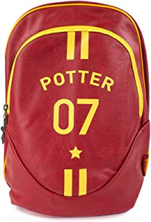 Bolso Oficial de Mochila Harry Potter Quidditch Captain Potter School