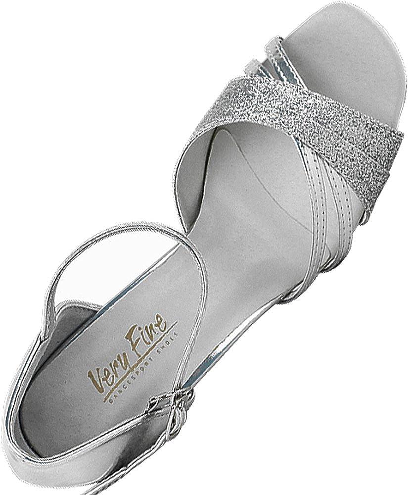 Women's Ballroom Dance Shoes Tango Wedding Salsa Shoes 6030EB Comfortable-Very Fine 2.5