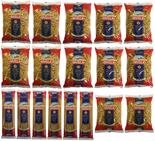 Nudeln, Pasta Paket Divella (18 X 500g)
