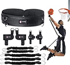 YNXing Boxing Training Resistance Band Set Leg Strength and Agility Training Strap System for Boxing,MMA,Muay Thai,Karate Combat, Basketball,Football Build Speed and Strength for Hitting