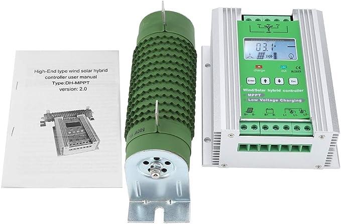 Bllboo Wind Solar Hybrid Controller Steigern Sie Den Mppt Wind Solar Hybrid Controller Auto Mit Dump Load Auf Dem Lcd Display Jw1230 Küche Haushalt