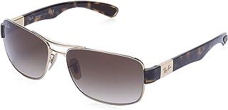 Ray-Ban Rectangle Unisex Sunglasses - 3522 1/13 61