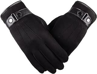 Winter Gloves for Men/Women,WUAI Clearance Men's Motorbiker Cycling Warm Ski Snow Snowboard Fashion Winter Leather Gloves