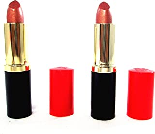 Estee Lauder Pure Color Long Lasting Lipstick - 83 Sugar Honey (Shimmer) - Set of 2