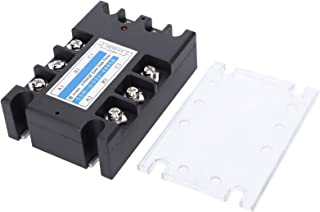 3 Phase Solid State Relay, 3 Phase Relay, SSR‑3/032‑4880A Dust‑Proof Two‑Way Scr for Petrochemical Equipment Packaging Mac...