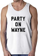 Men's Funny Sarcastic Letter Print Party On Tank Top