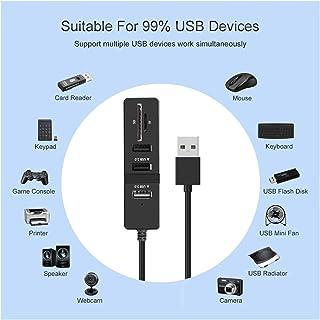 ملحقات الكمبيوتر USB HUB 3.0 متعدد USB 3.0 موزع USB 3.0 موزع عالي السرعة السرعة 2 منافذ 2.0 HUB TF SD قارئ بطاقة الكل في و...