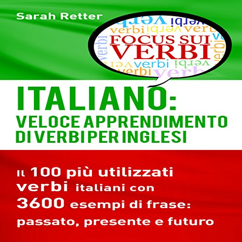 Italiano: Veloce Apprendimento di Verbi per Inglesi audiobook cover art