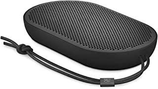Bang & Olufsen Beoplay P2 Portable Bluetooth Speaker, Wireless Splash and Dust Resistant Speaker, with up to 10 Hours of P...