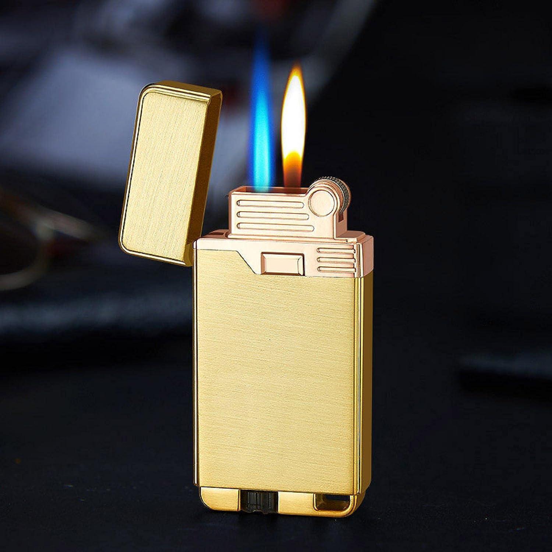 Gas Lighter Jet Metal Butane Ci Sale Two Turbo Super-cheap Flames