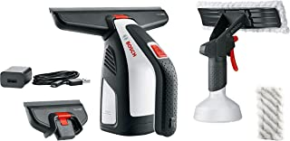 Bosch 06008B7070 GlassVAC Cordless Window Vac for Windows, Tiles, Mirrors and Shower, Running Time Approximately 35 Window...