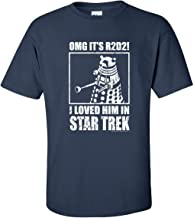 r2d2 star trek shirt