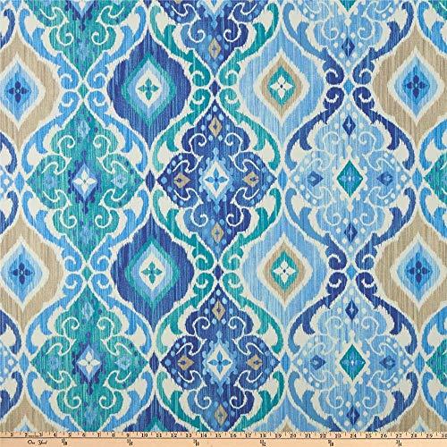 Richloom Fabrics Richloom Solarium Outdoor Fresca Cobalt Fabric by the Yard