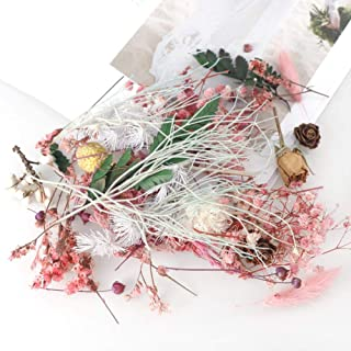 BREEZEY DIY Dried Flower Candle Handmade Making Aromatherapy Wax Piece Special Dried Flower Candle for Party