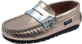 Girl's Leather Penny Loafers