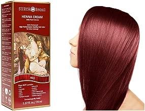Surya Brasil Products Henna Cream, Red, 2.37 Fluid Ounce
