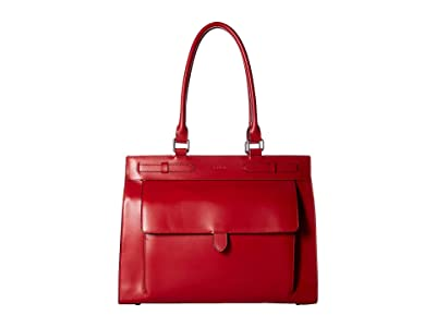 Lodis Accessories Audrey RFID Eileen Large Brief (Red) Handbags