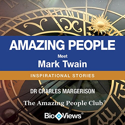 Meet Mark Twain audiobook cover art