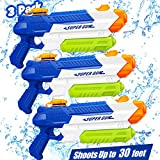 Toy Life 3 Pack Water Guns for Kids or Adults - Super Blaster Soaker Water Gun -Squirt Gun - Kids Outdoor Toys and Games for Boys, Girls - Pool Water Guns Summer Toy for Toddlers, Kids, Adults