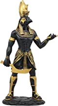 Ebros Ancient Egyptian Theme Falcon Horus Ra Holding Ankh Statue 12