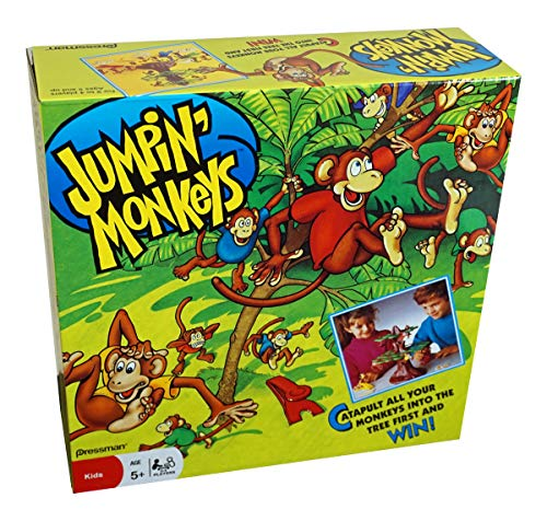 Pressman Jumpin Monkeys Game - Contains 2 Circles of Leaves