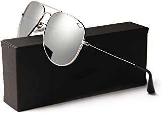 Aviator Sunglasses for Men Women Polarized UV 400 Protection Classic Style Ultra Lightweight Driving Outdoor Activity