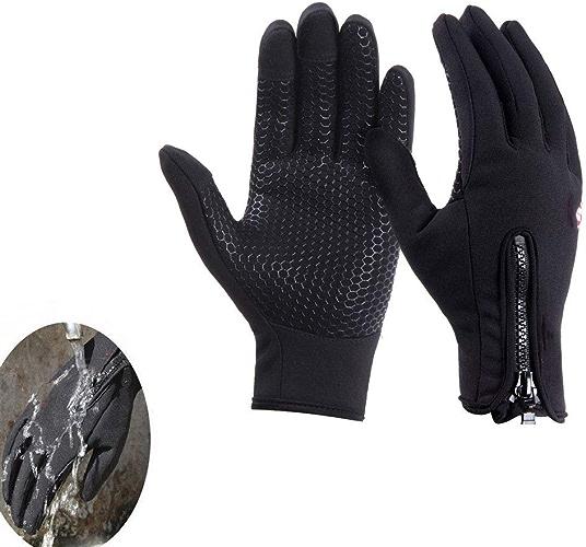 CRZJ Gants antidérapants à écran Tactile en Plein air Polaire Gant équitation Gant Hommes et Femmes Le Style