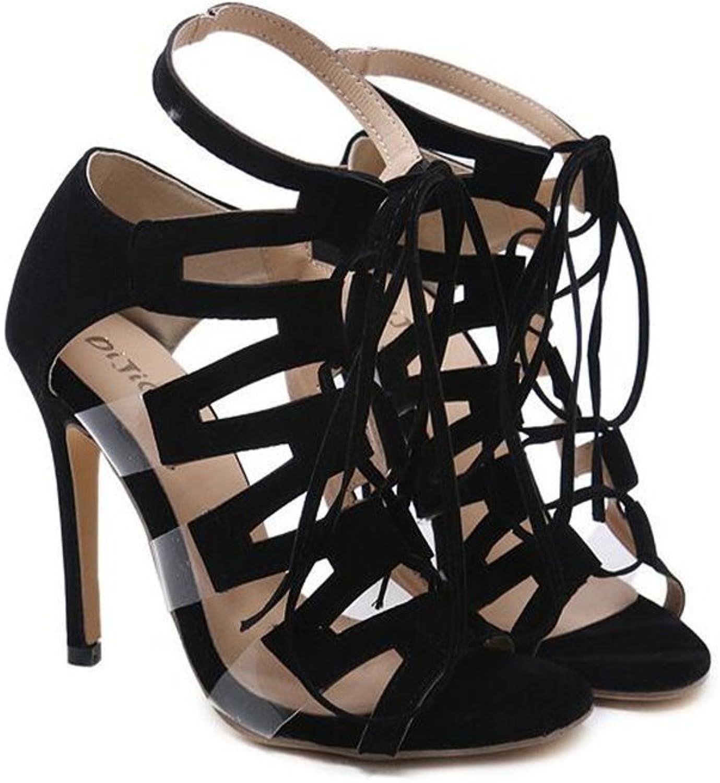 Coollight Womens Open Toe Sandals Heels Practice Ballroom Dance shoes