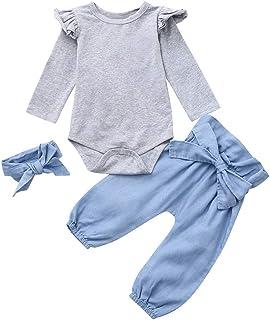 K-youth Ropa Bebe Nina Recien Nacido Otoño Invierno 2018 Ofertas Ropa de Bautizo Blusas Bebe Niña Manga Larga Camisetas Be...