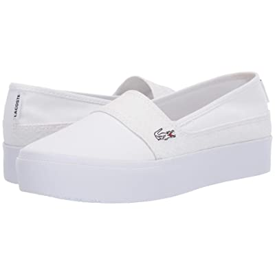 Lacoste Marice Plus Grand 119 2 (White/White) Women