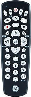 Best GE Universal Remote Control for Samsung, Vizio, LG, Sony, Sharp, Roku, Apple TV, RCA, Panasonic, Smart TVs, Streaming Players, Blu-ray, DVD, 4-Device, Black, 34708 Reviews