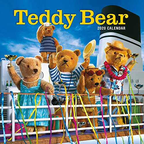 Compare Textbook Prices for Teddy Bear Wall Calendar 2020  ISBN 9781523506798 by Workman Calendars