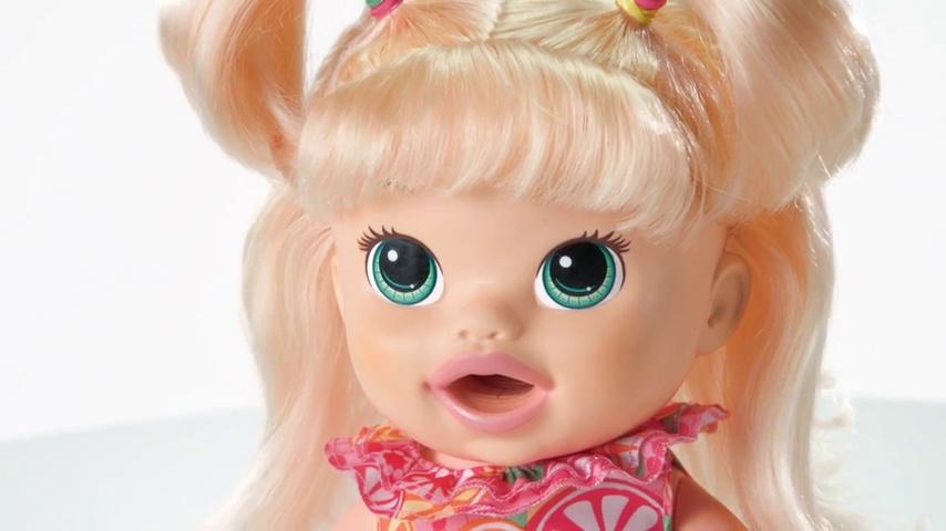 Purple 14 girlzndollz 600577 Elana Multicolor Ballerina Doll- Dark Skin Pink