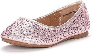 Muy Girls Dress Shoes Slip on Ballerina Flats(Toddler/Little Kid/Big Kid)