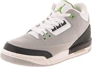 Jordan Nike Kids Air 3 Retro (GS) Basketball Shoe