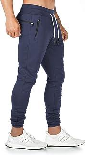 Yageshark - Pantalones de deporte para hombre, de algodón,