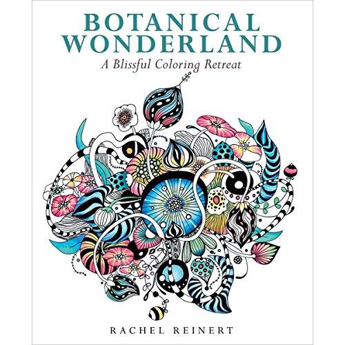 Botanical Wonderland: A Blissful Coloring Retreat