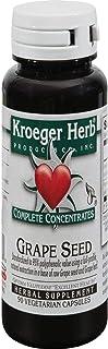 Kroeger Herb Grape Seed - 90 Vegetarian Capsules