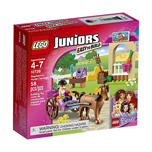 LEGO Juniors 10726 Stephanie's Horse Carriage Building Kit (58 Piece) by LEGO Juniors