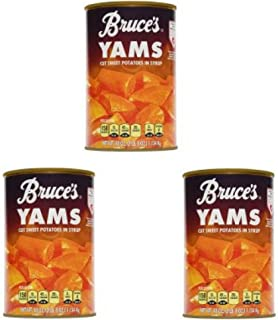 Bruce's Yams Cut Sweet Potatoes in Syrup, 40 oz - Pack of 3