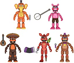 Funko Five Nights at Freddys Pizza Simulator Series 4 Articulated Action Figures (Set of 5)