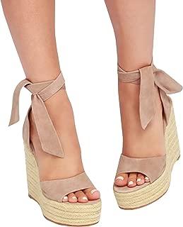 Best lace up leg wedges Reviews