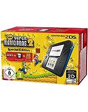 Nintendo 2DS - Konsole (schwarz) inkl. New Super Mario Bros. 2 (vorinstalliert) - [Edizione: Germania]