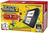Console Nintendo 2DS - Noir & bleu + New Super Mario Bros. 2
