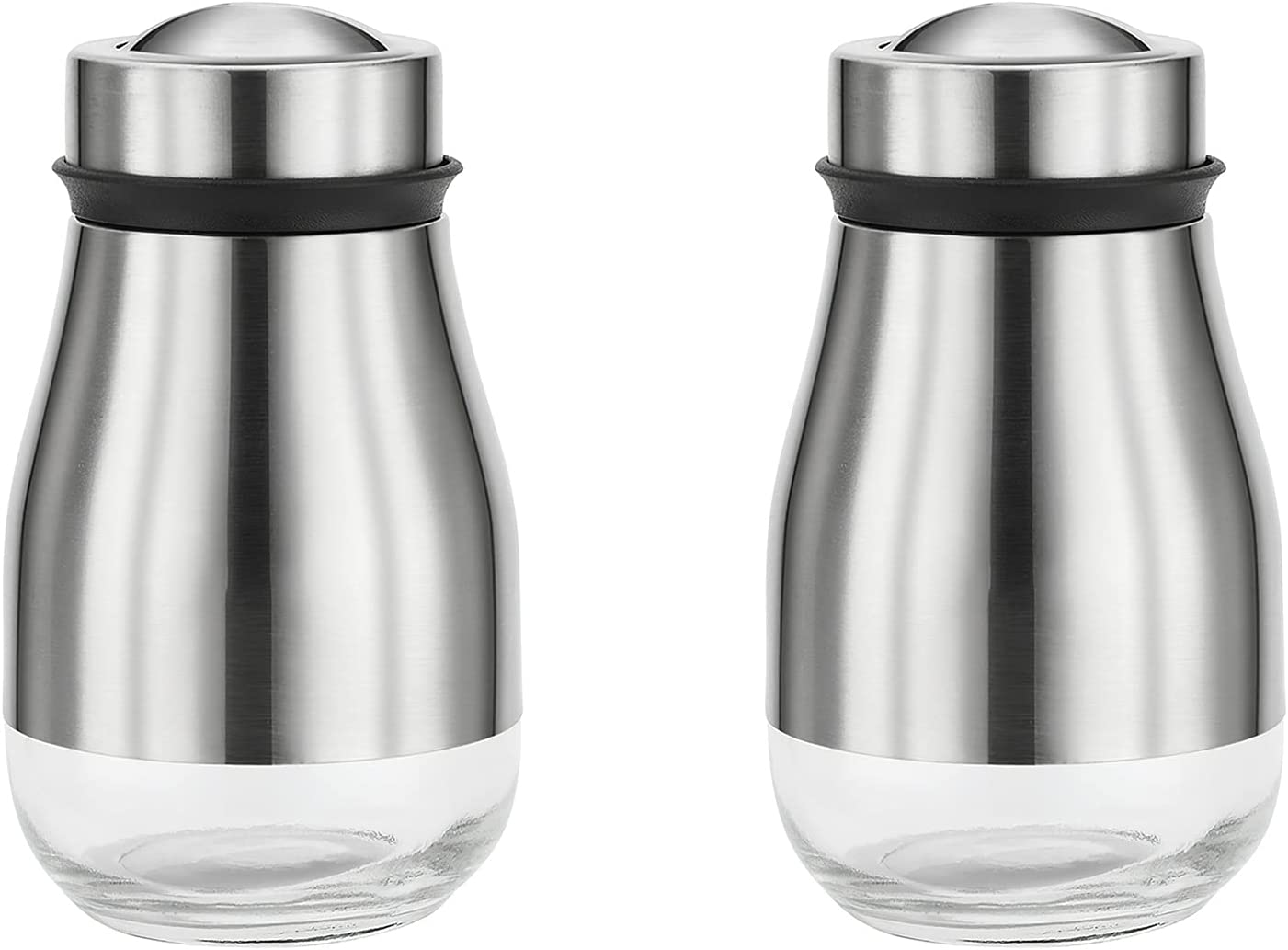 5 ☆ popular 2PCS Salt and Pepper Shakers Grinder 3 Adjustable Hol with trust