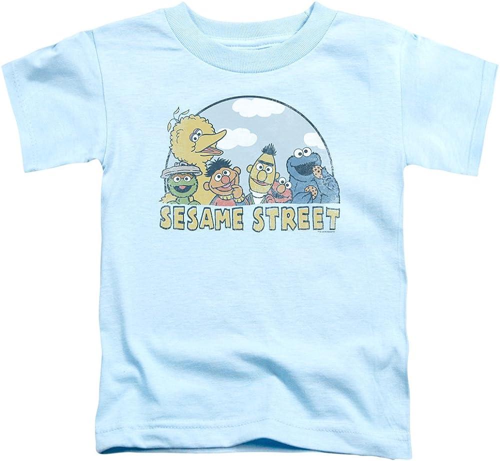 Sesame Street Design Collection Unisex Youth Juvenile T-Shirt