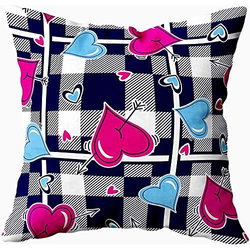 July Sofa Throw Cushion Cupid boog pijl set unieke kunst ansichtkaarten afdrukken banner lichaam kussensloop