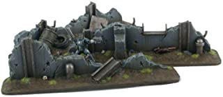 War World Gaming War Torn City Defensive Barricades x 3 – 28mm Heroic Scale Futuristic Sci-Fi Wargame Terrain Scenery Zomb...