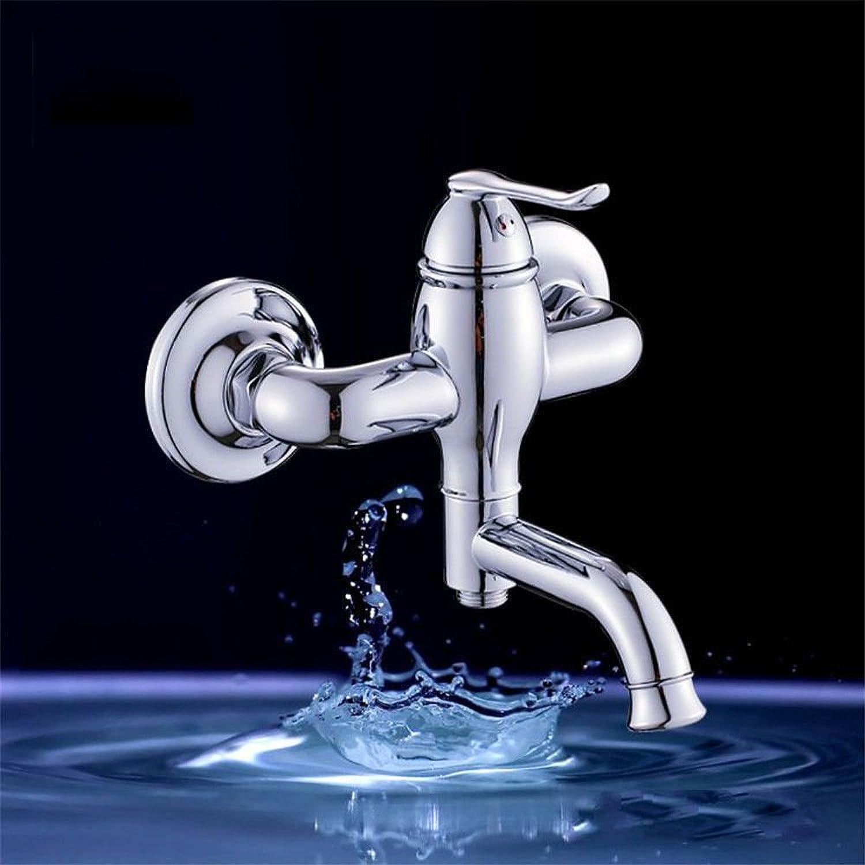 Bijjaladeva Wasserhahn Bad Wasserfall Mischbatterie Waschbecken Waschtisch Armatur Waschbeckenarmatur für BadezimmerDusche Armatur Badewanne Kalt Wasserhahn D